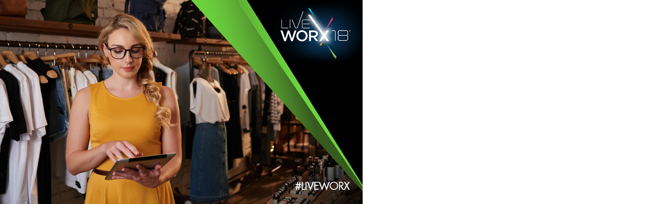 Visit us at LiveWorx '18